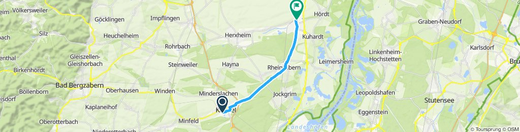 Max Fahrrad geholt in Rülzheim
