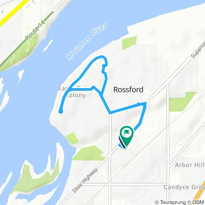 Rossford Colony loop