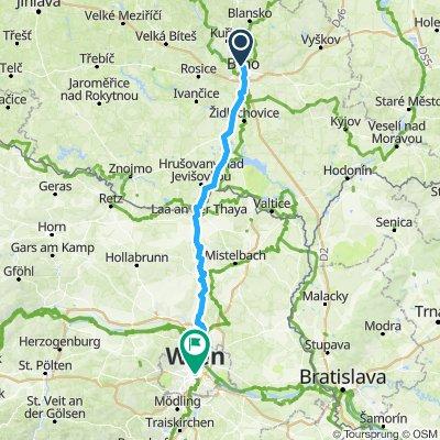 Brno wien _pavedonly