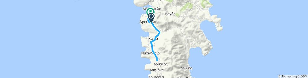 Easy ride in Areopoli
