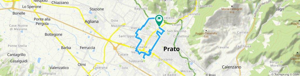 Percorso moderato in Prato