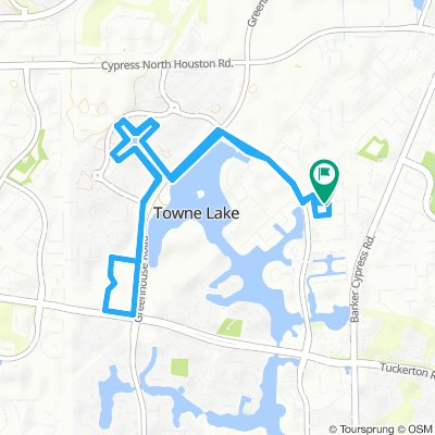 Cycling routes and bike maps in and around Cypress | Bikemap - Your on