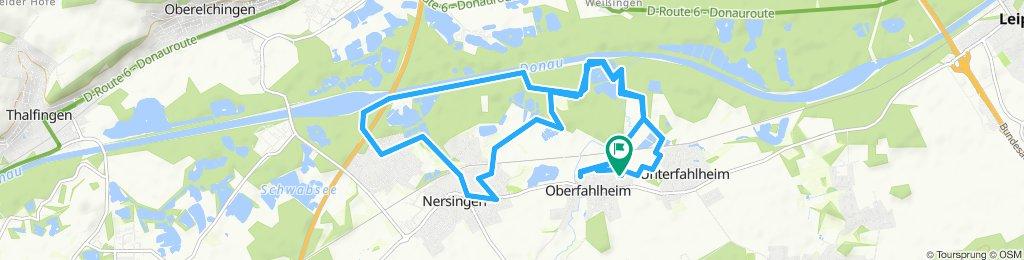 Sonntag Morgen Semmel Route