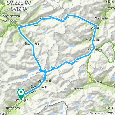 Glacier du Rhone (Furka-Susten-Grimsel) 156KM 4.2KD+