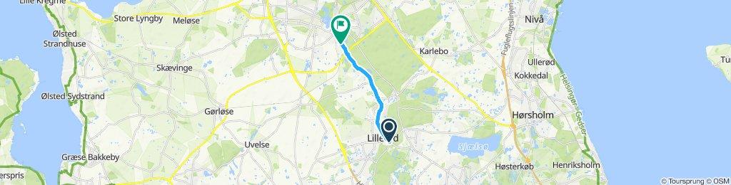 Easy ride in Hillerød