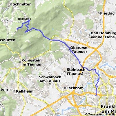 Frankfurt-Bockenheim--> Feldberg