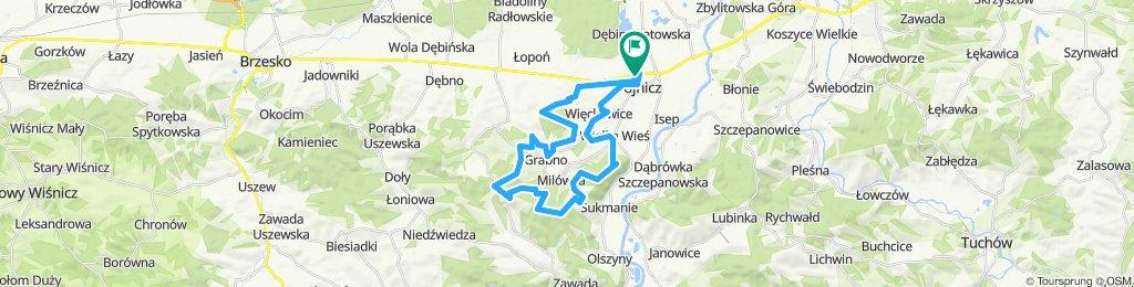 "Dyst. Quarter ""Dare To Be"" Maraton MTB Wojnicz 2019."