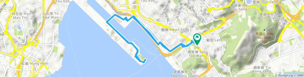 Moderate route in Lam Tin