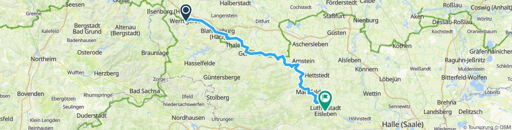 HARZ 021: Wernigerode - Eisleben