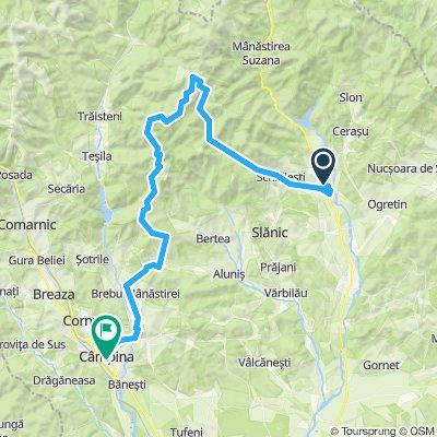 Izvoarele-Mtii Grohotis-Traseul moto enduro-Pietriceaua-Campina