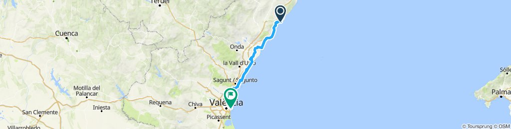 Spain 2019 Day 6 Torrenostra to Valencia