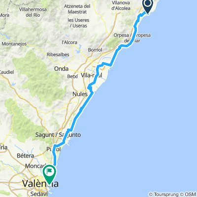 Spain 2019 Day 6 Torrenostra to Valencia