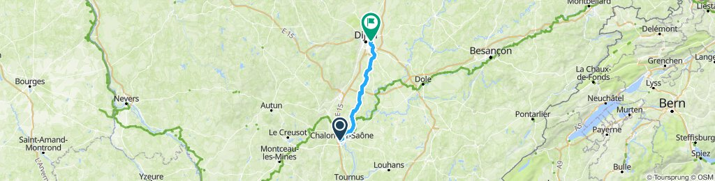 Go to Decathlon Quetigny - 80km 240D+