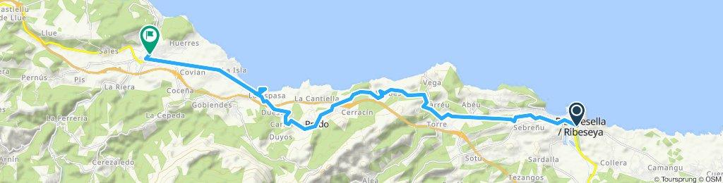 Gemütliche Route in Colunga