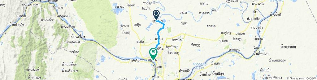 Tha Ngon to Vientiane