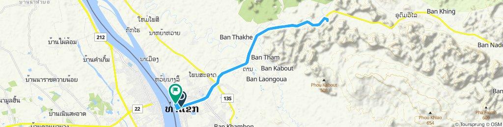 Tha Kek to Tham Xien Liap Cave
