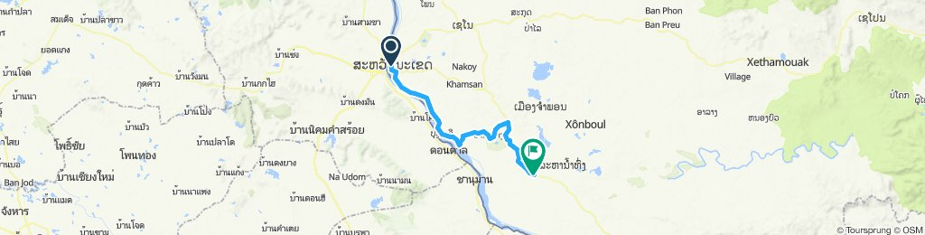 Savannakhet to Pakxong
