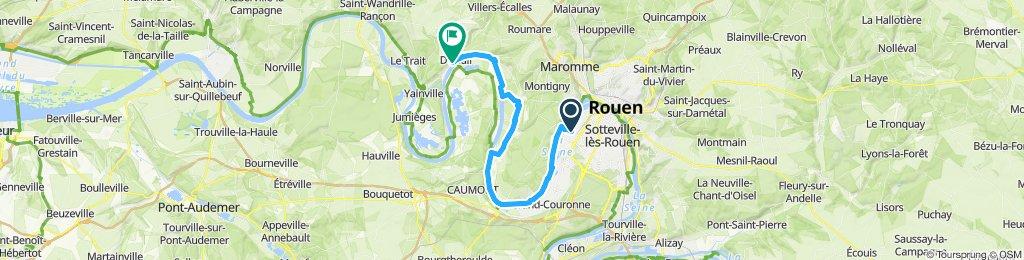 La Seine jusqu'à Duclair