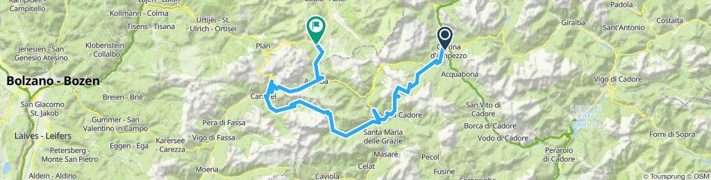 Cortina d'Ampezzo-GIAU-FEDAIA-PORDOI-CAMPOLONGO-Corvara