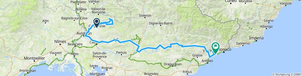 Mont-Ventoux Nizza Tour de France