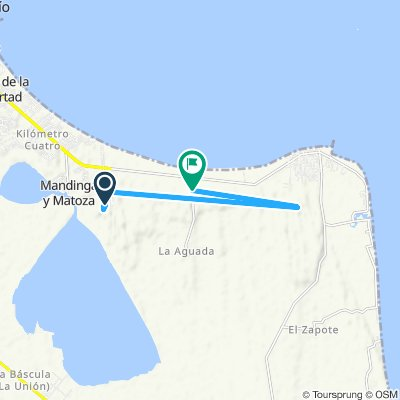 Ruta moderada en Alvarado