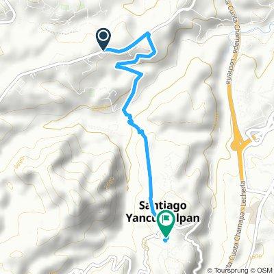 Slow ride in Huixquilucan