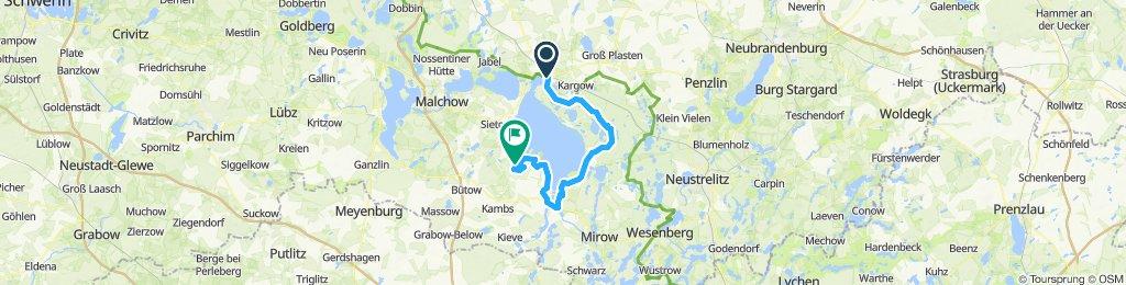 DE- Waren-Robel 57 km