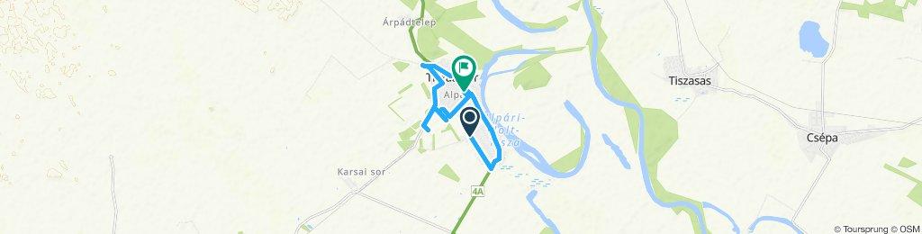 Slow ride in Tiszaalpár