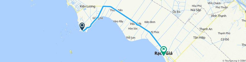 2 Mekong Delta Ba Trai nach Rach Gia