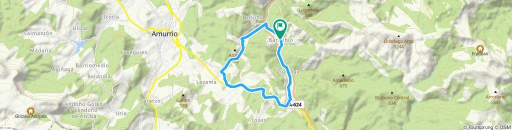 Vuelta carrera sin subida final ( 5 vueltas )