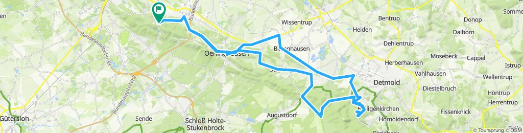 Bielefeld -> Hermannsdenkmal