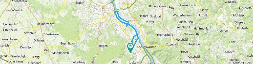 Bonn - Bad Godesberg Rheinradweg
