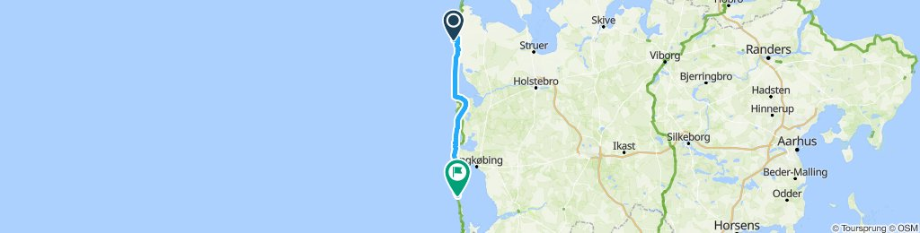 Bovbjerg Fyr - Hvide Sande