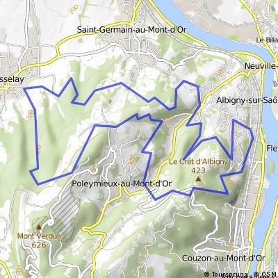Transmontdo 2010 (parcours 20km)