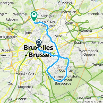 Stage 2 - TDF 2019 - Hotel to KM 0 and Route