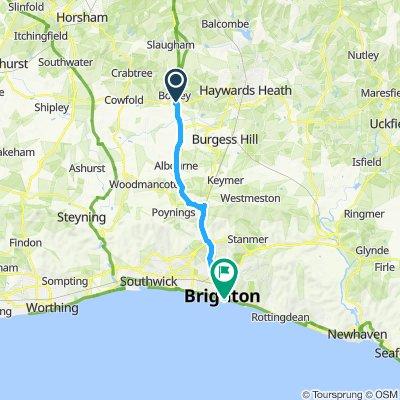 to Brighton