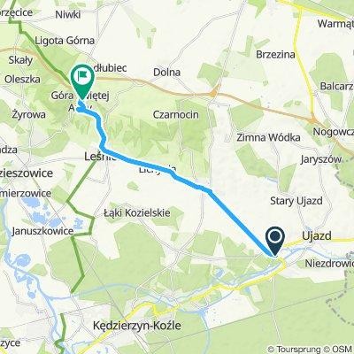 Steady ride in Góra Świętej Anny
