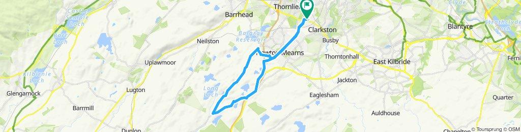 Giffnock A77 Cairn Hill Stewarton Rd Newton Mearns Giffnock