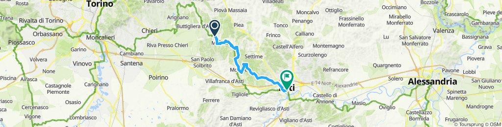 Piemont 2 Capriglio - Asti