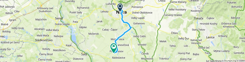 Nitra - Kesov