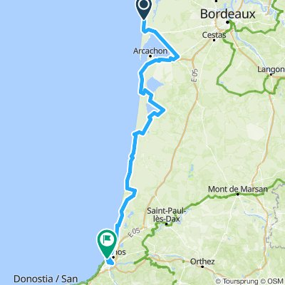 EuroVelo 1 - Part 29 - From Lége-Cap-Ferret to Bayonne
