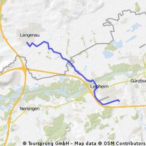 kurze Strecke Bubesheim