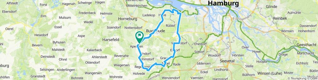 Route um Immenbeck