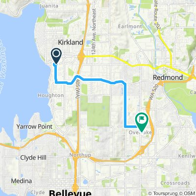 Cycling routes and bike maps in and around Kirkland | Bikemap - Your on longview map, south bellevue map, duvall map, newcastle map, des moines map, finn hill map, camano map, edmonds community college map, burien map, renton map, university place map, seattle map, mukilteo map, washington street map, gig harbor map, city of spokane valley map, parkland map, suquamish map, lake sawyer map, lynnwood map,
