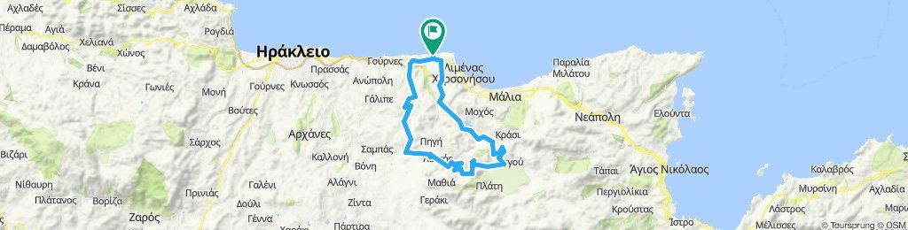 Minoan Route - Rozas canyon