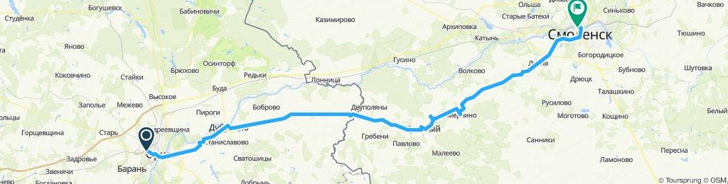 Орша-Смоленск