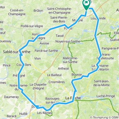 DBK route 1