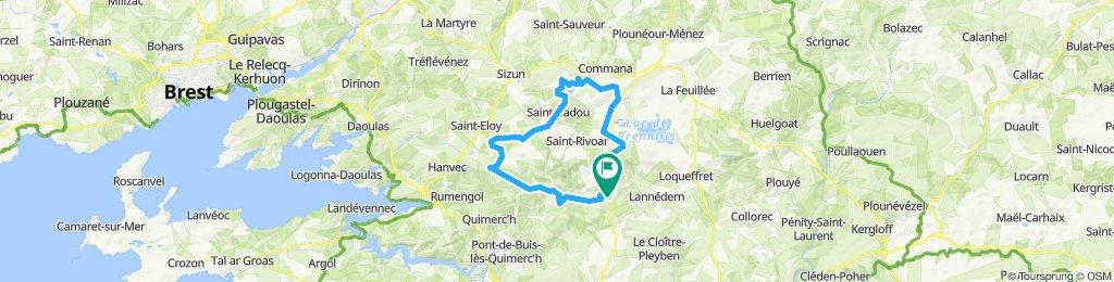 Brasparts 50 km
