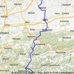 Von Oelde nach Lennestadt