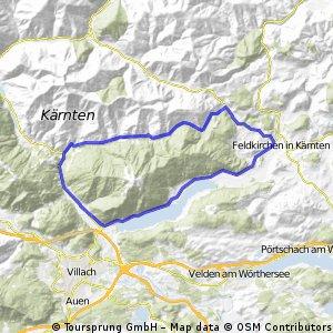 > Himmelberg > Feldkrichen > Ossiachersee